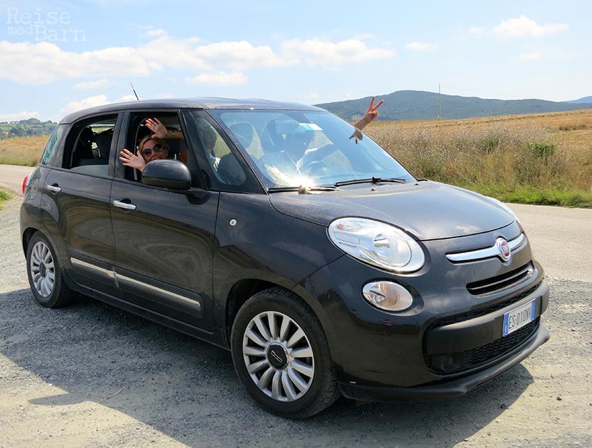 Fem i en Fiat