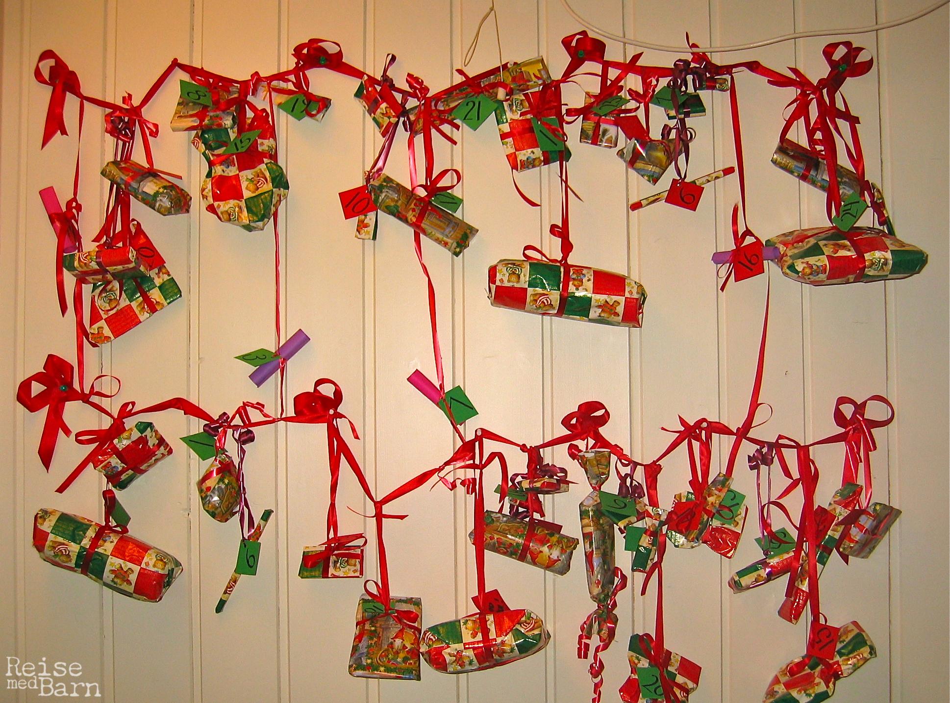 lage julekalender selv